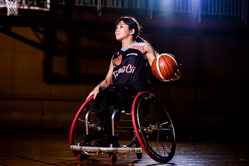 Miho Otsu | Wheelchair Basketball | Employee Athletes | Sanwa Holdings Corporation Sports Sponsorship